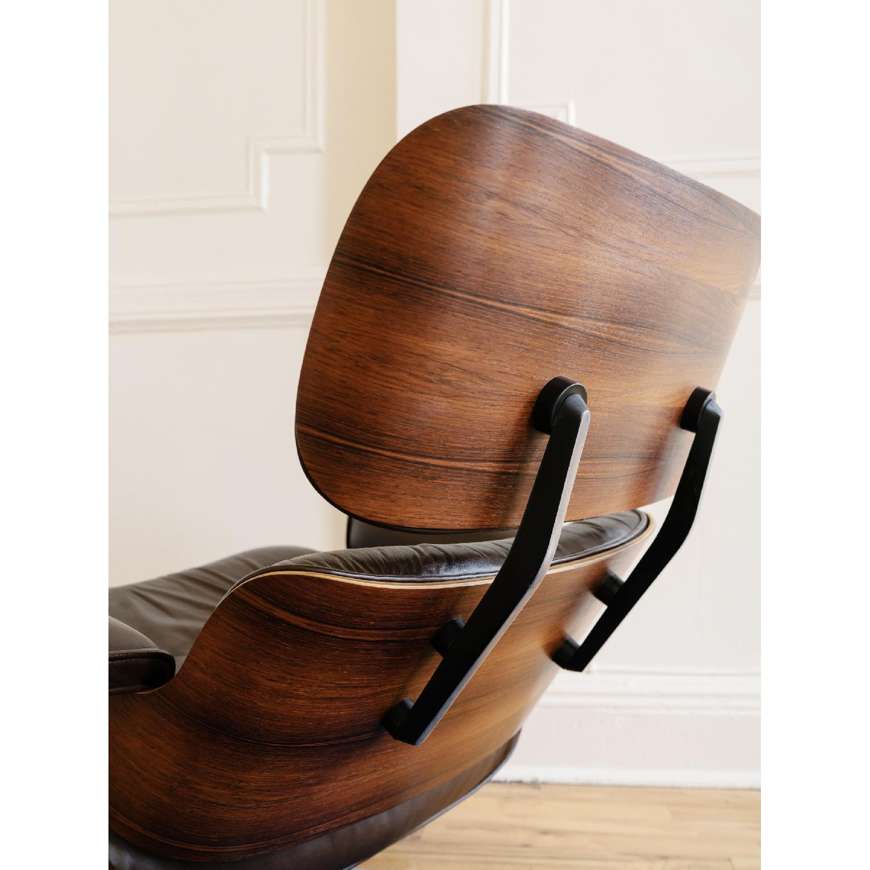 Herman Miller 1981 Vintage Eames Lounge Chair & Ottoman - image-5
