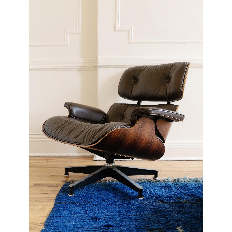 Herman Miller 1981 Vintage Eames Lounge Chair & Ottoman - image-6