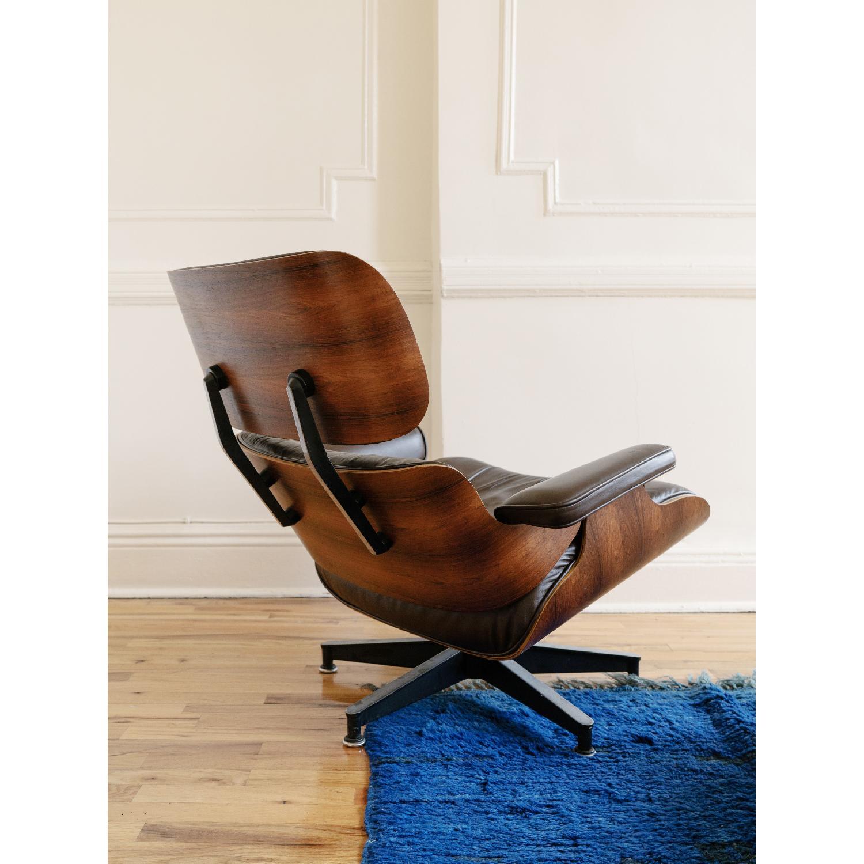 Herman Miller 1981 Vintage Eames Lounge Chair & Ottoman - image-7