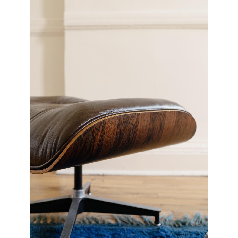 Herman Miller 1981 Vintage Eames Lounge Chair & Ottoman - image-9