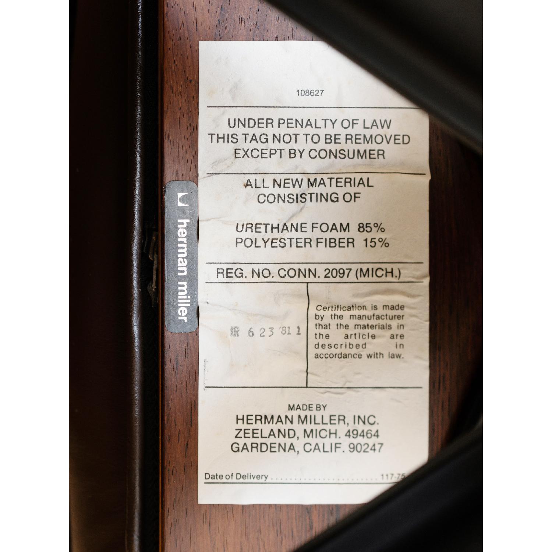 Herman Miller 1981 Vintage Eames Lounge Chair & Ottoman - image-10