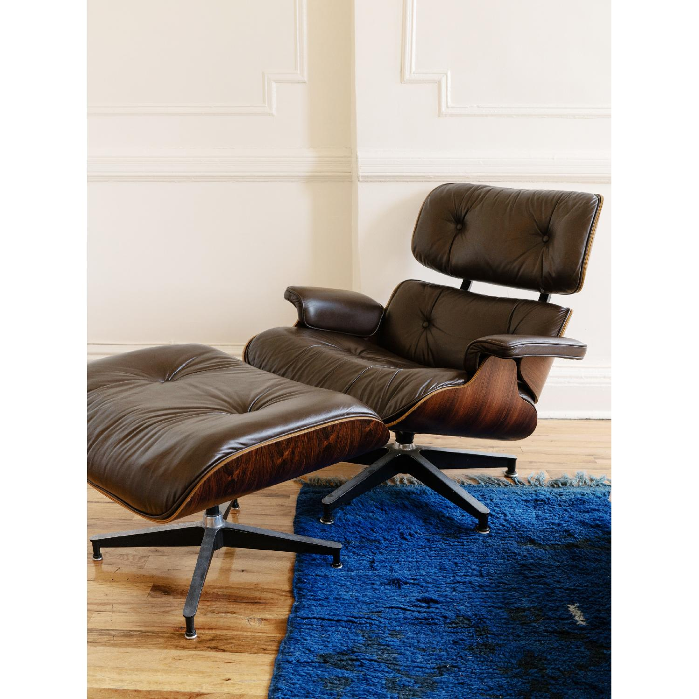 Herman Miller 1981 Vintage Eames Lounge Chair & Ottoman - image-11