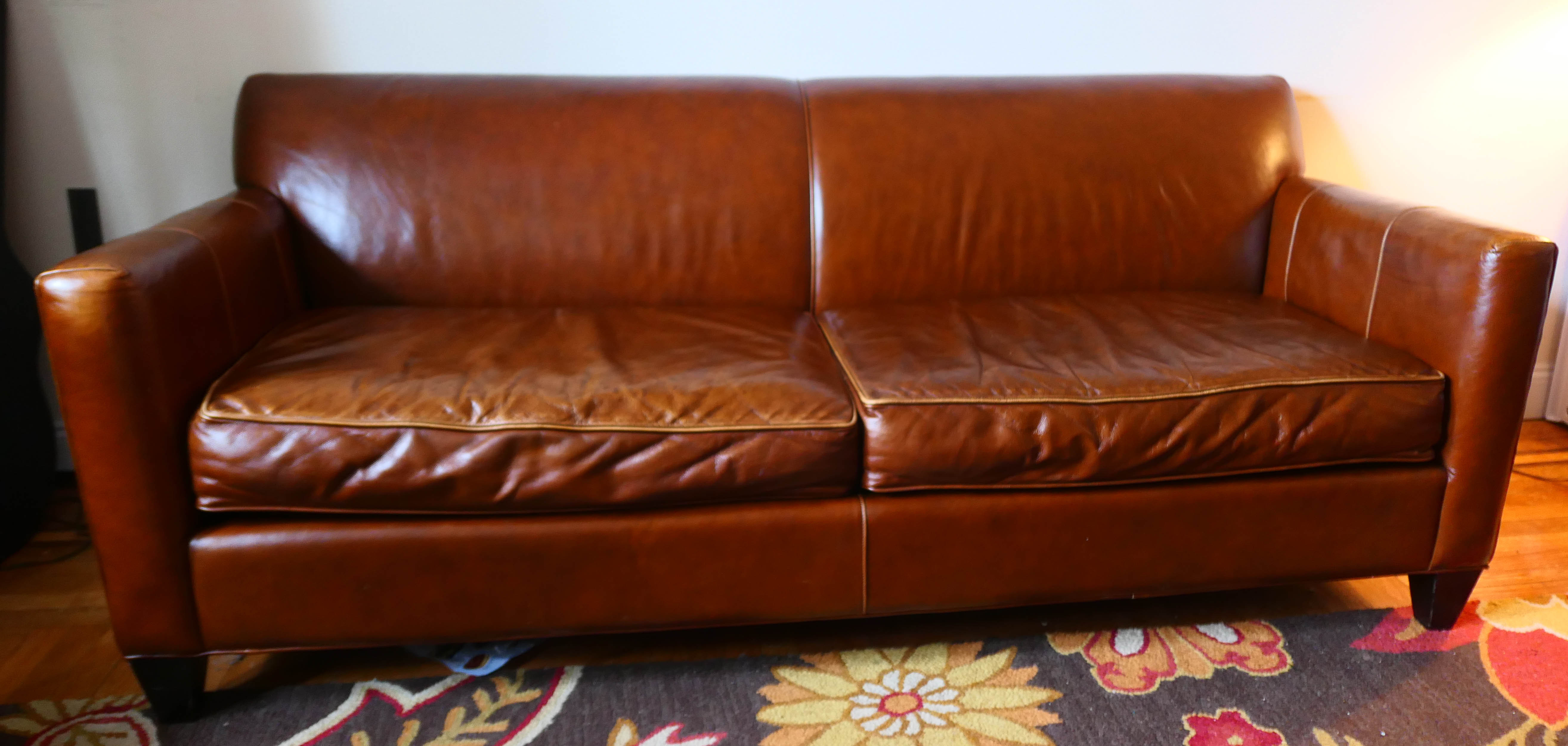 Miraculous Crate Barrel Leather Sofa Aptdeco Gmtry Best Dining Table And Chair Ideas Images Gmtryco