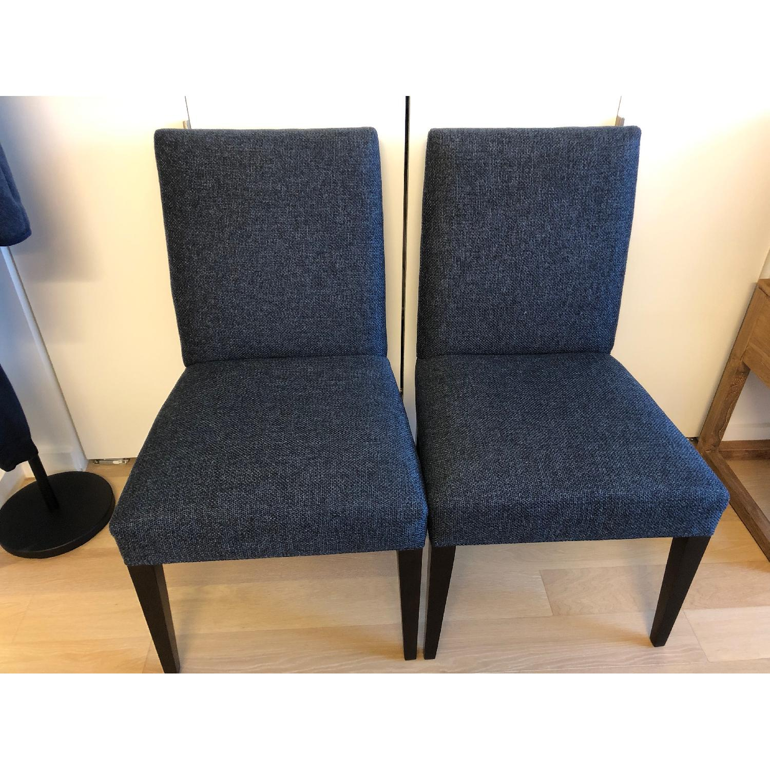 Crate & Barrel Miles Upholstered Dining Chair - image-1