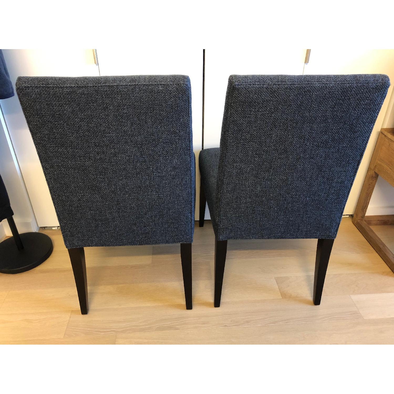 Crate & Barrel Miles Upholstered Dining Chair - image-2