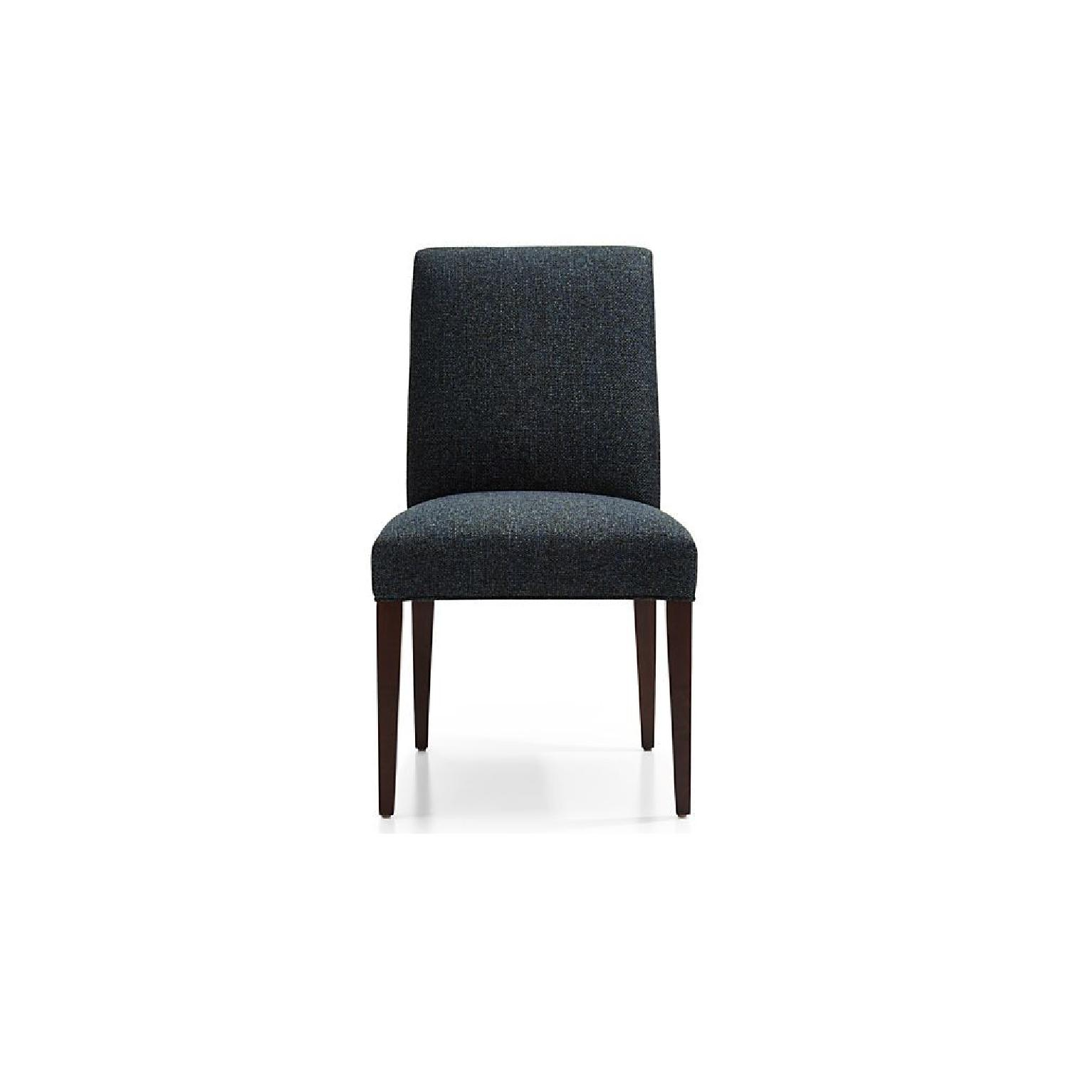 Crate & Barrel Miles Upholstered Dining Chair - image-0