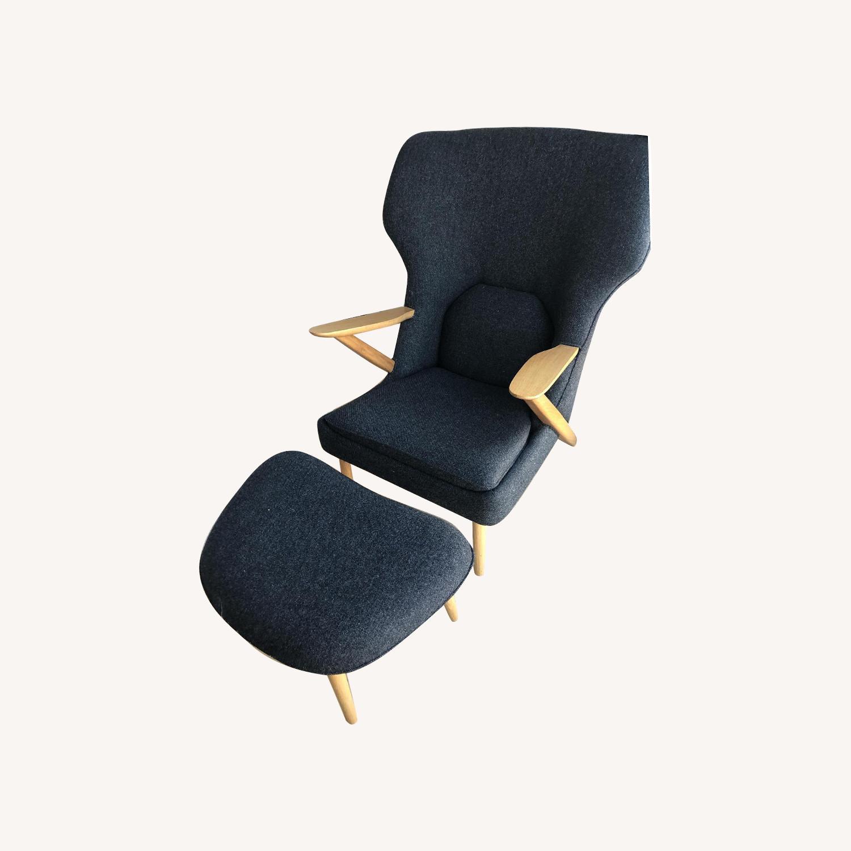 Organic Modernism Lounge Chair - image-0