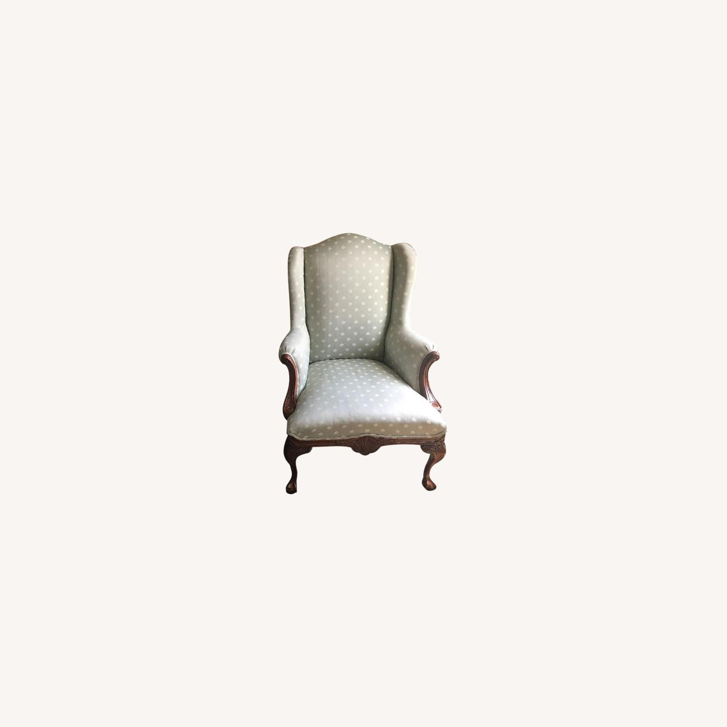 Thomasville Upholstered Arm Chairs - image-0