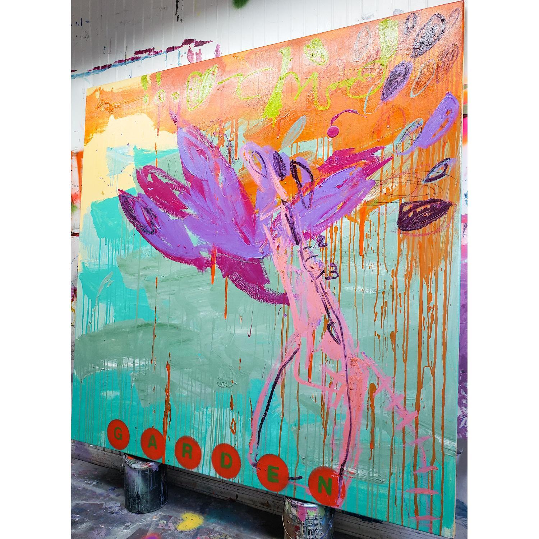 Alberto Riera Garden Series Painting - image-1