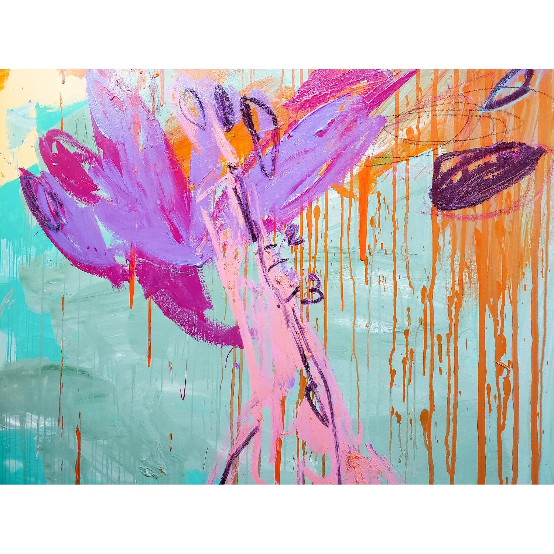 Alberto Riera Garden Series Painting - image-2