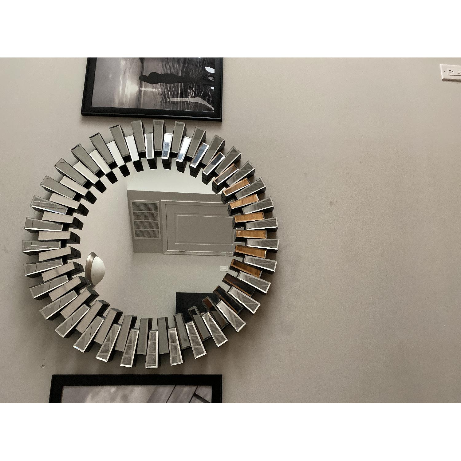 Christopher Knight Home Cienega Round Wall Mirror - image-1