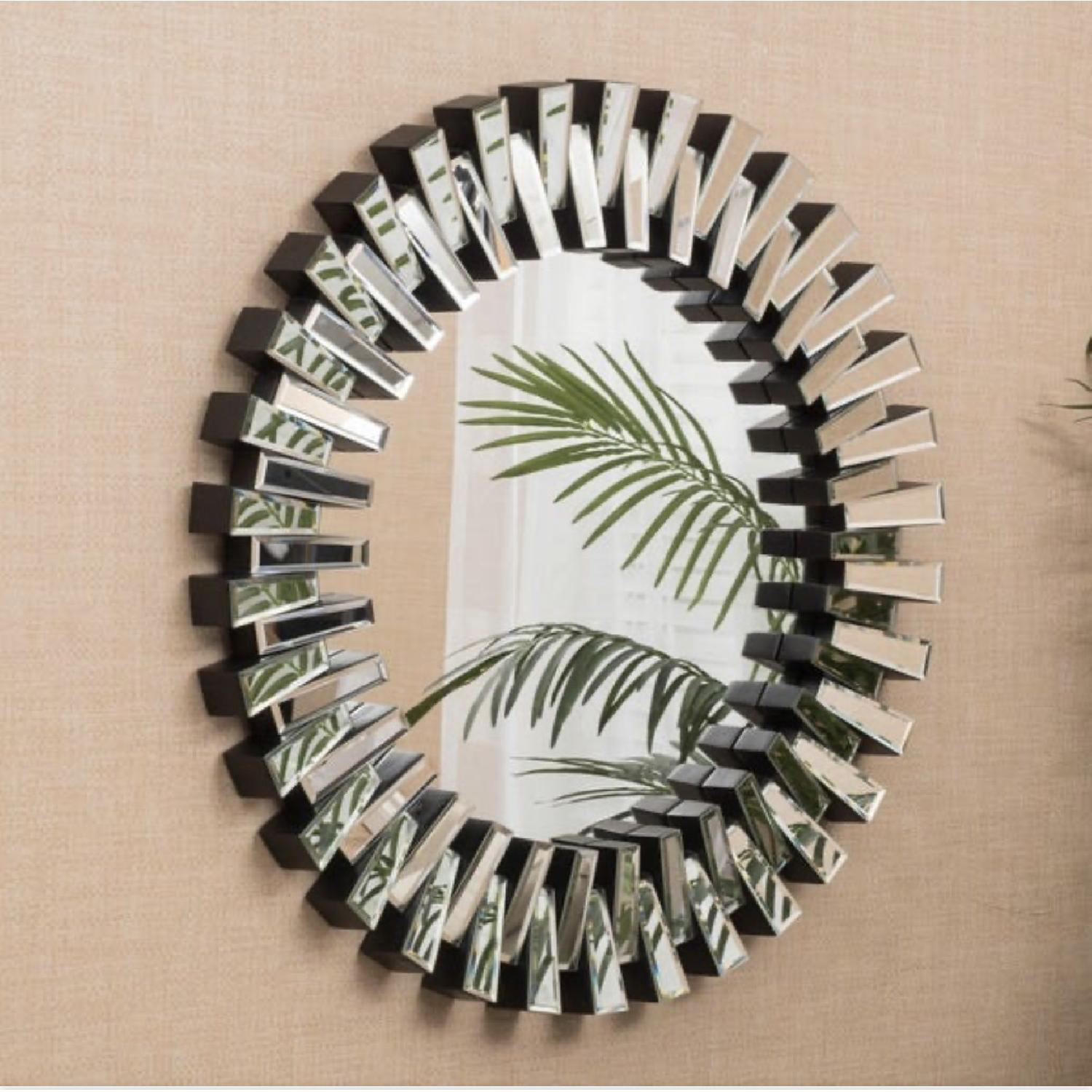 Christopher Knight Home Cienega Round Wall Mirror - image-2
