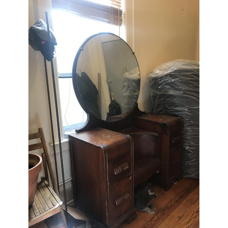 Vintage Art Deco Vanity - image-2