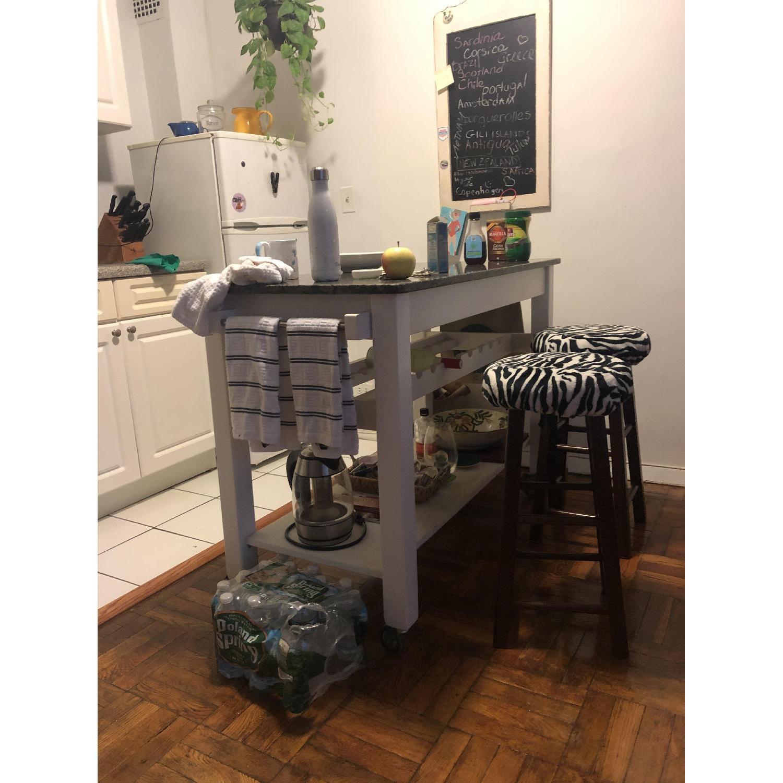 Pottery Barn Kitchen Island Table - image-3
