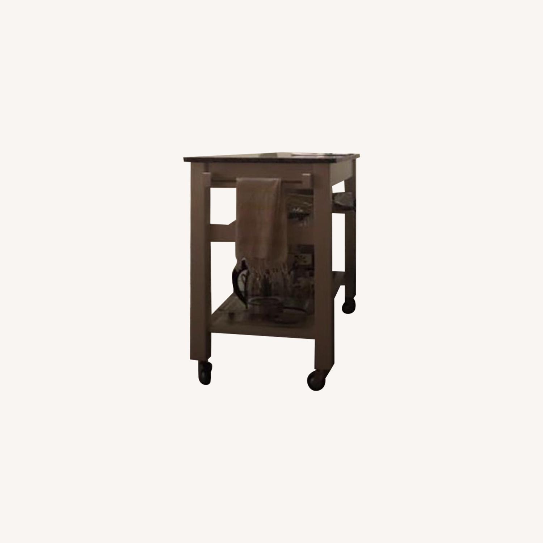 Pottery Barn Kitchen Island Table - image-0