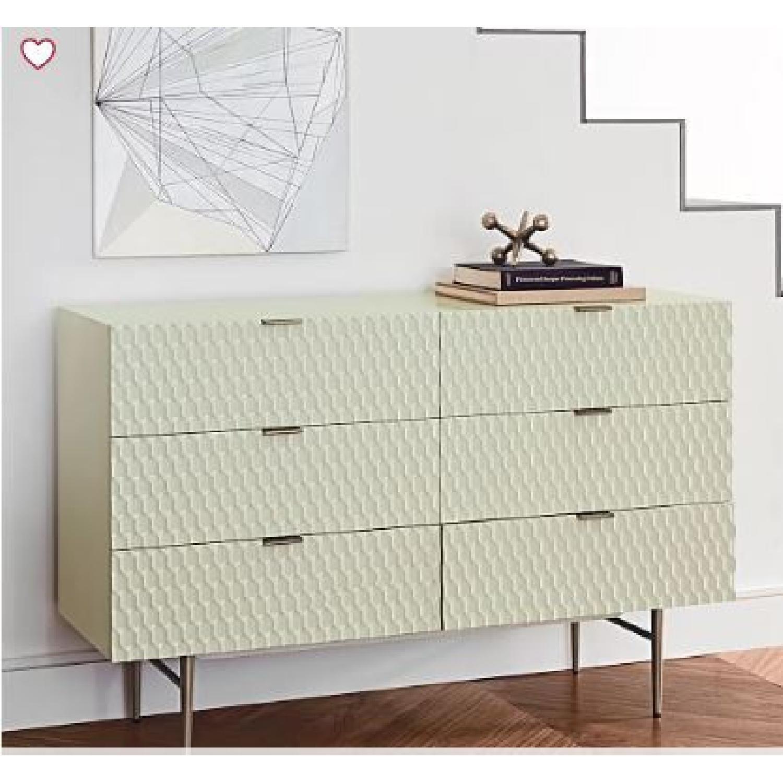 West Elm Audrey 6-Drawer Dresser - image-1