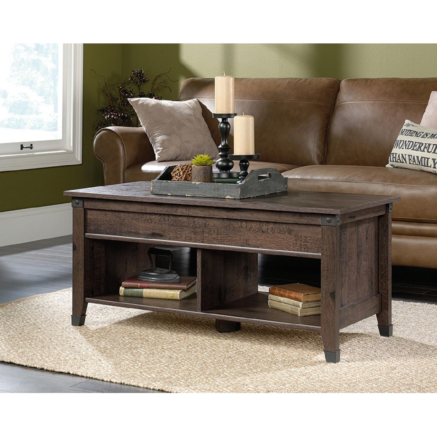 Sauder Carson Forge Lift Top Coffee Table - image-2