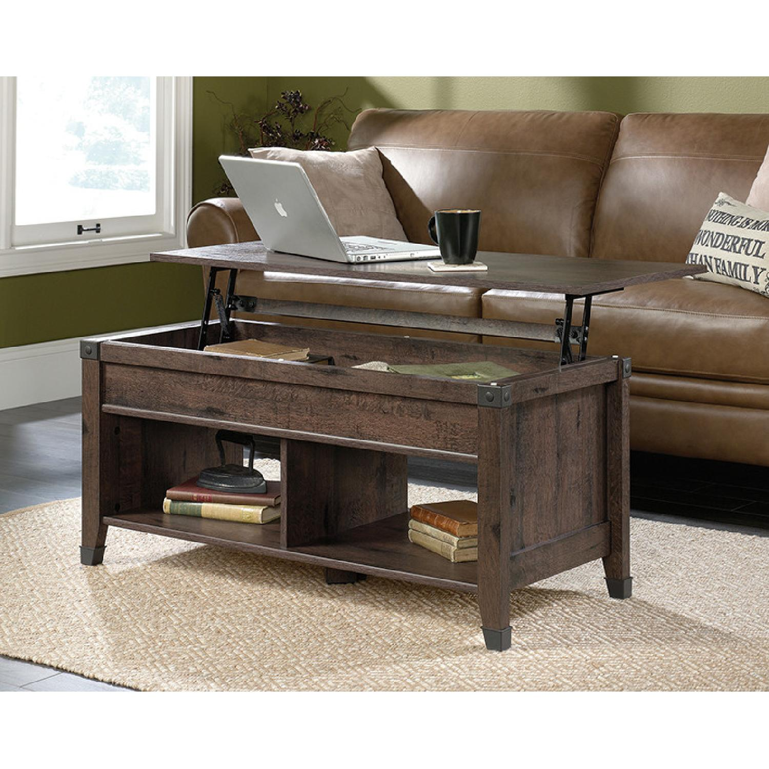 Sauder Carson Forge Lift Top Coffee Table - image-1