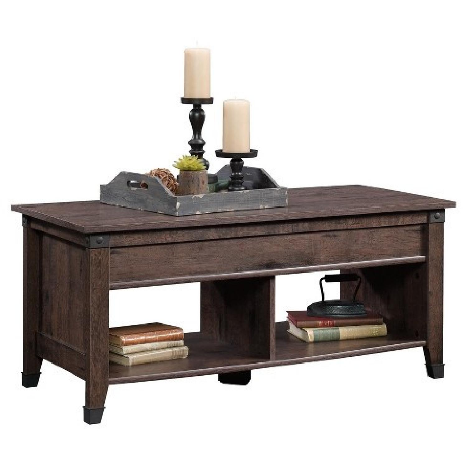 Sauder Carson Forge Lift Top Coffee Table - image-0