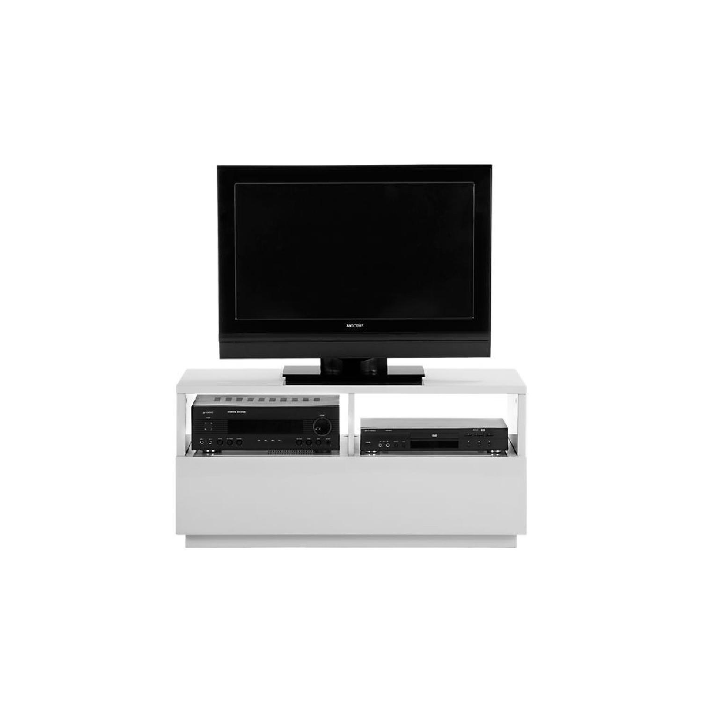 CB2 Chill White Mini Media Console - image-3