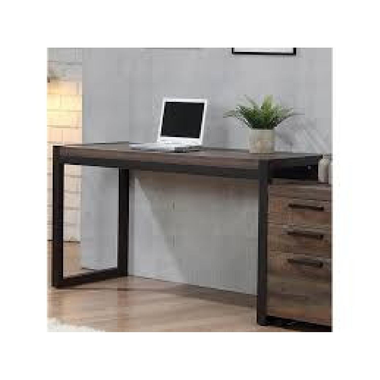 Natural Rustic Coffee Desk - image-1