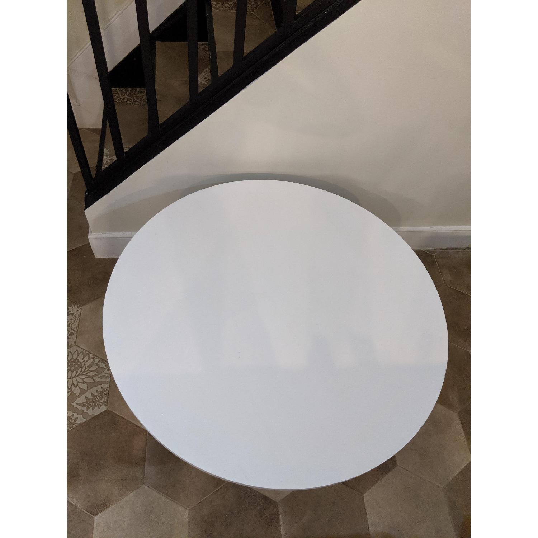 Ikea Vejmon White Coffee Table - image-2
