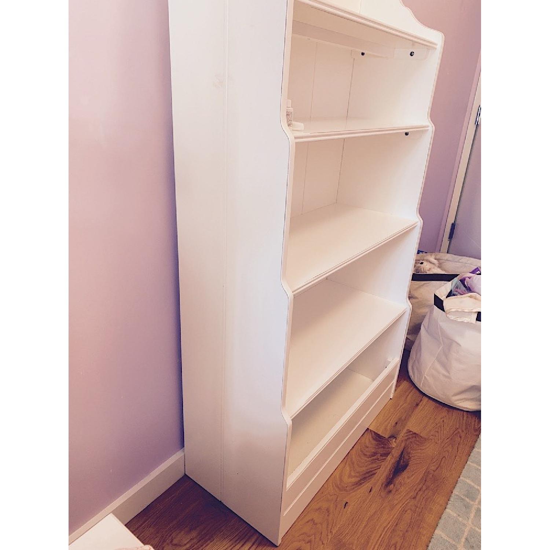 Land of Nod Tall Cottage White Kids Bookcase - image-3