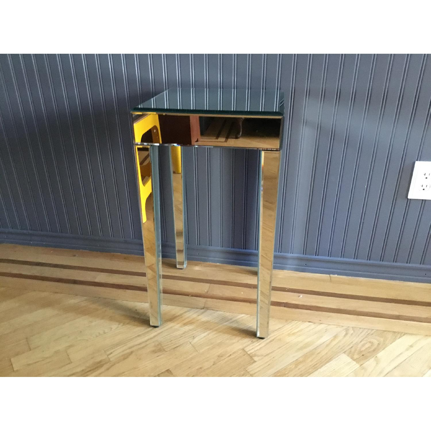 Mirrored Side Table - image-2