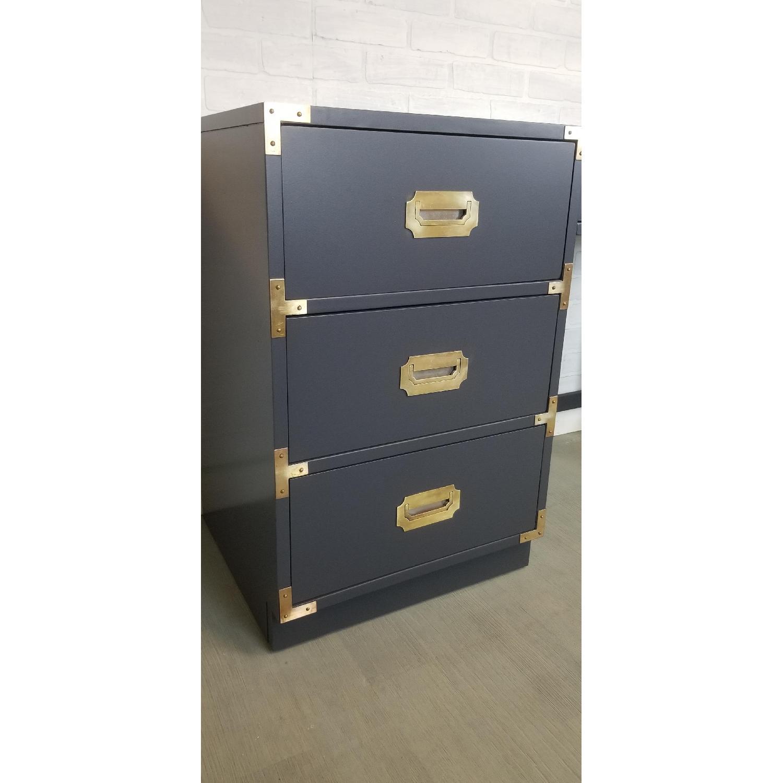 Bernhardt Vintage Campaign Desk/Vanity - image-5