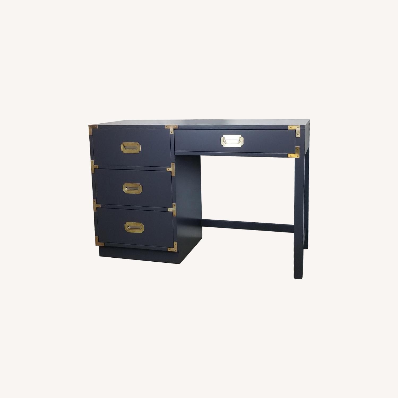 Bernhardt Vintage Campaign Desk/Vanity - image-0