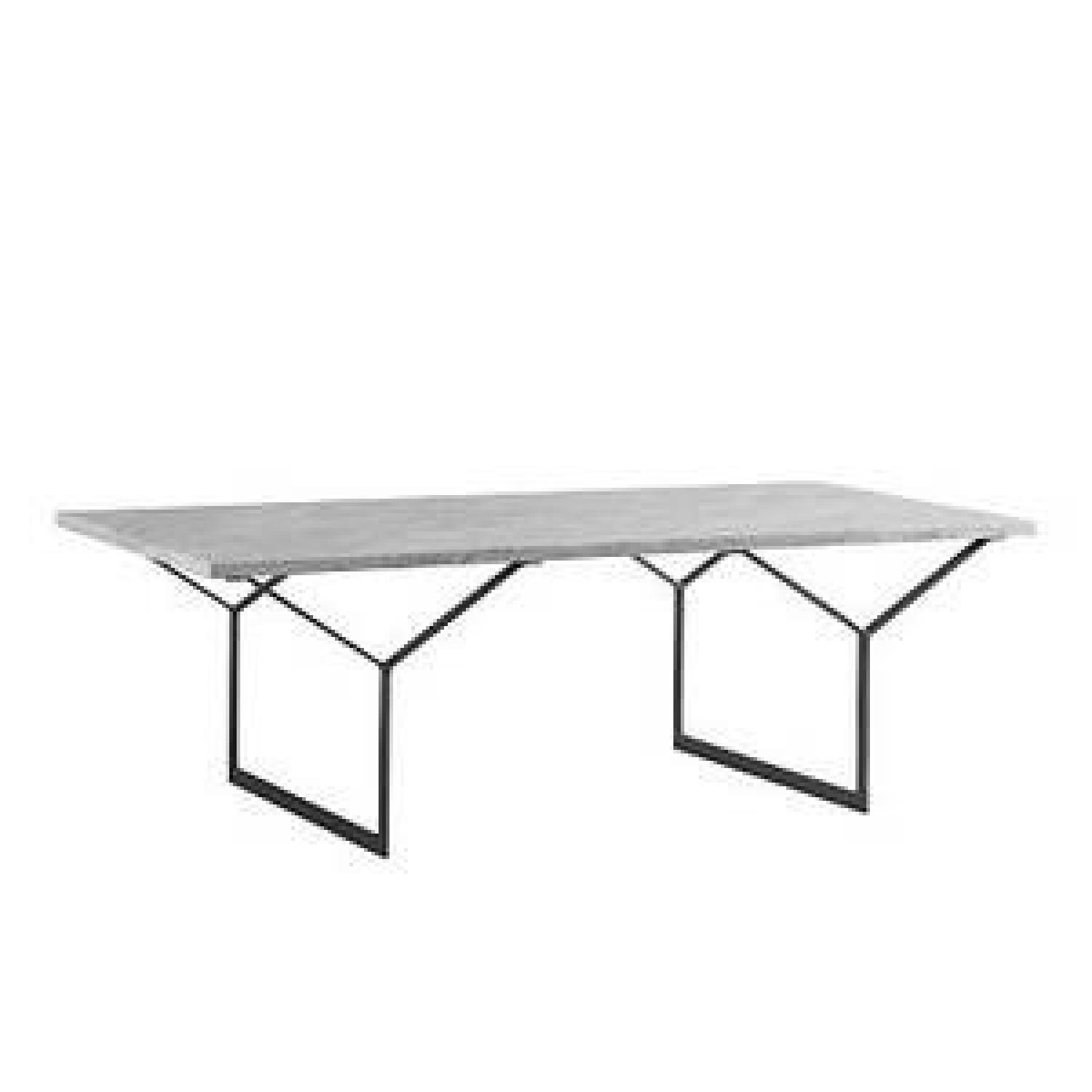 West Elm Marble Coffee Table - image-0