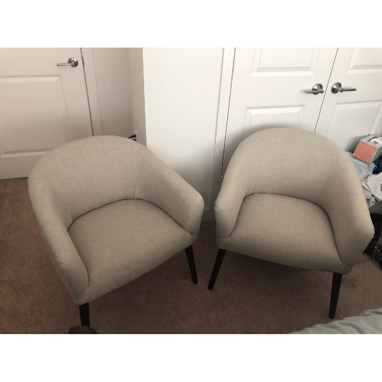Target Pomeroy Roma Elephant Barrel Chairs - image-2