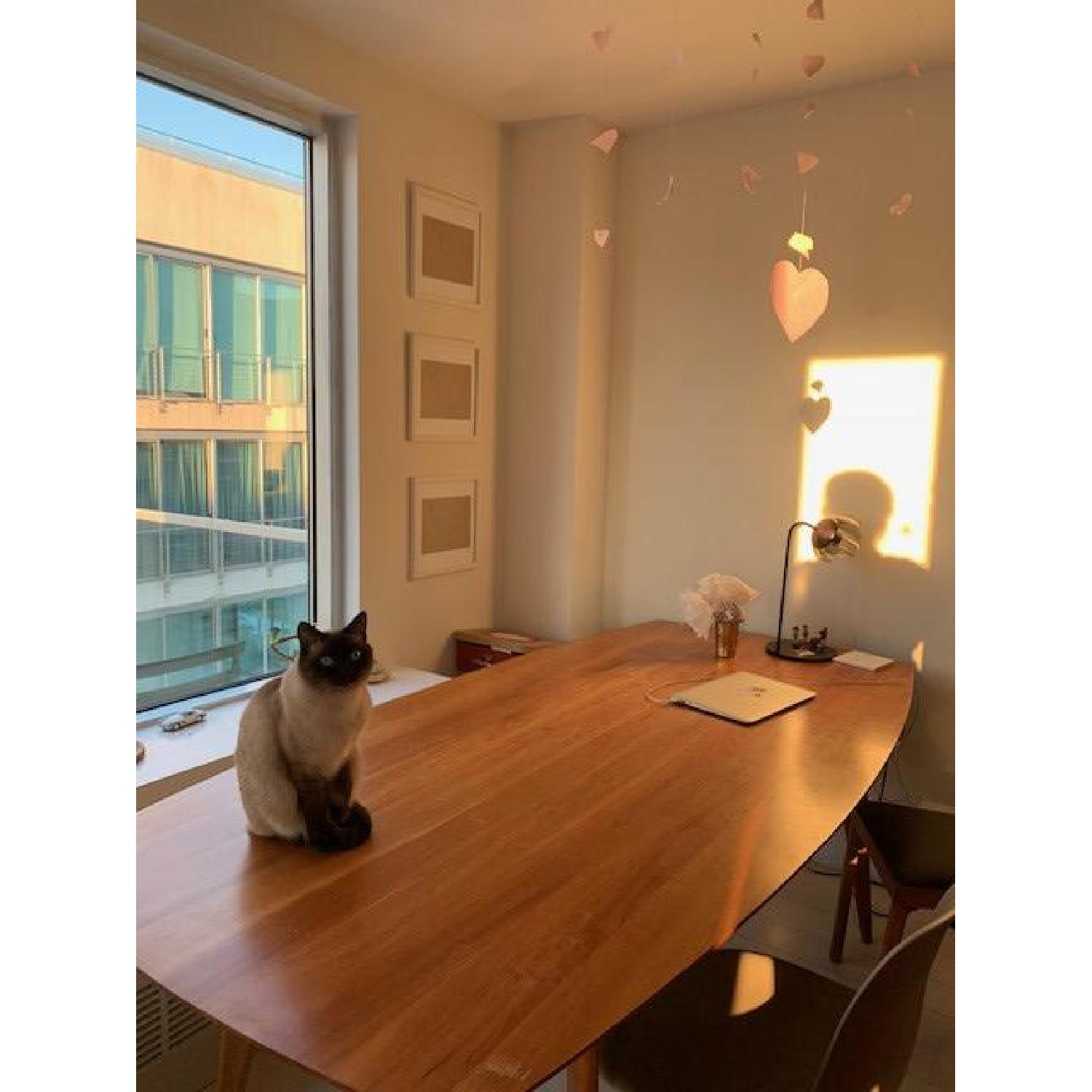 Room & Board Cherry Dining Table - image-3
