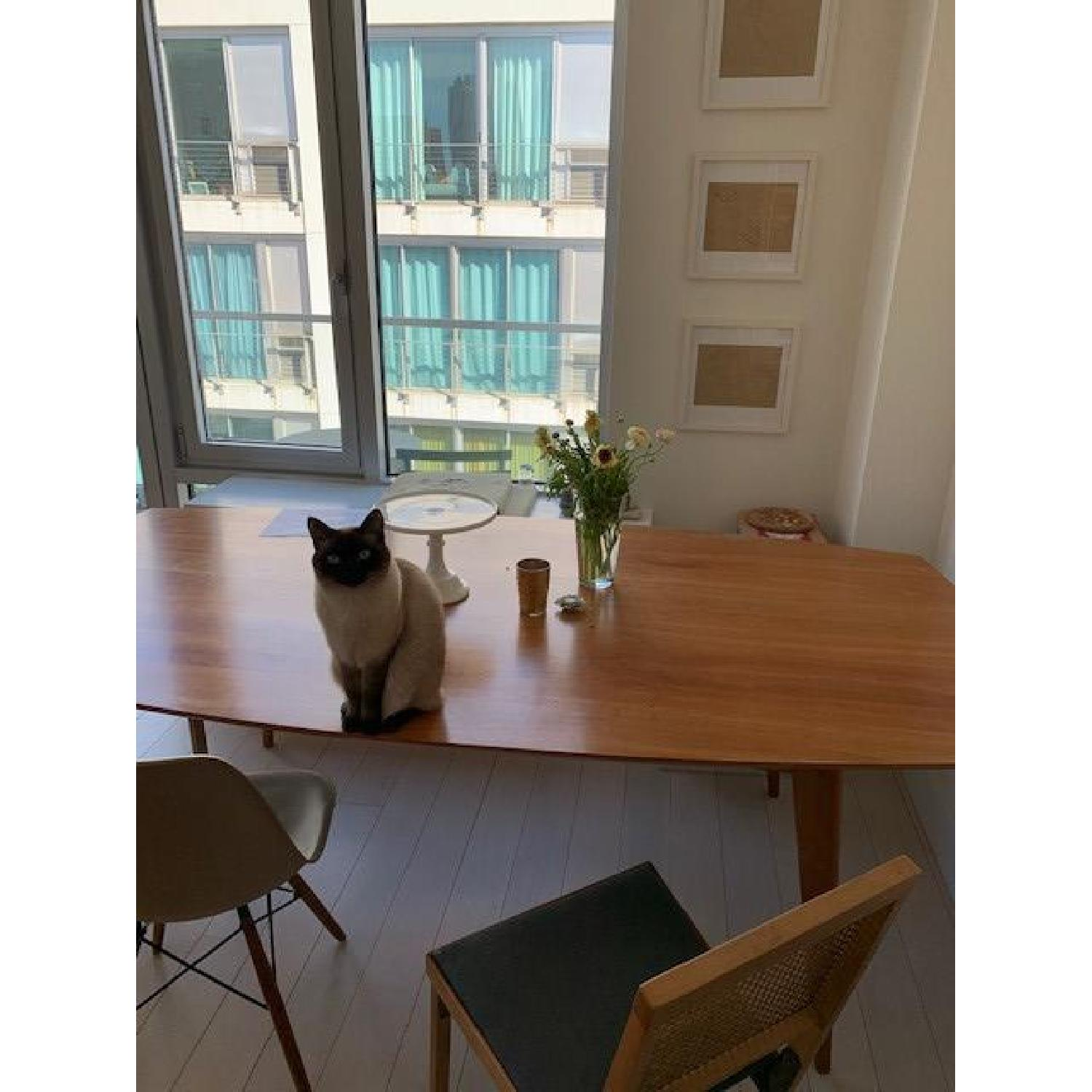 Room & Board Cherry Dining Table - image-9
