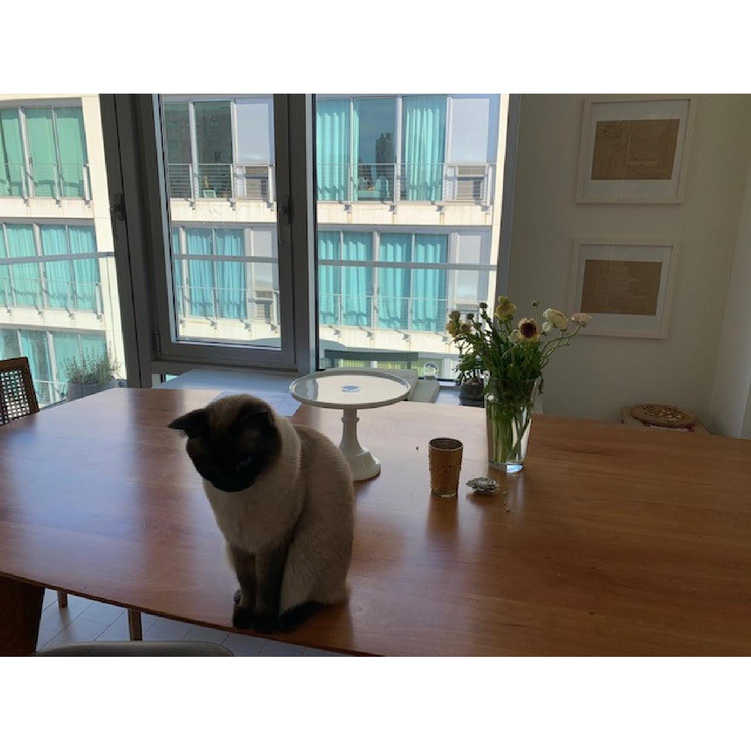 Room & Board Cherry Dining Table - image-7
