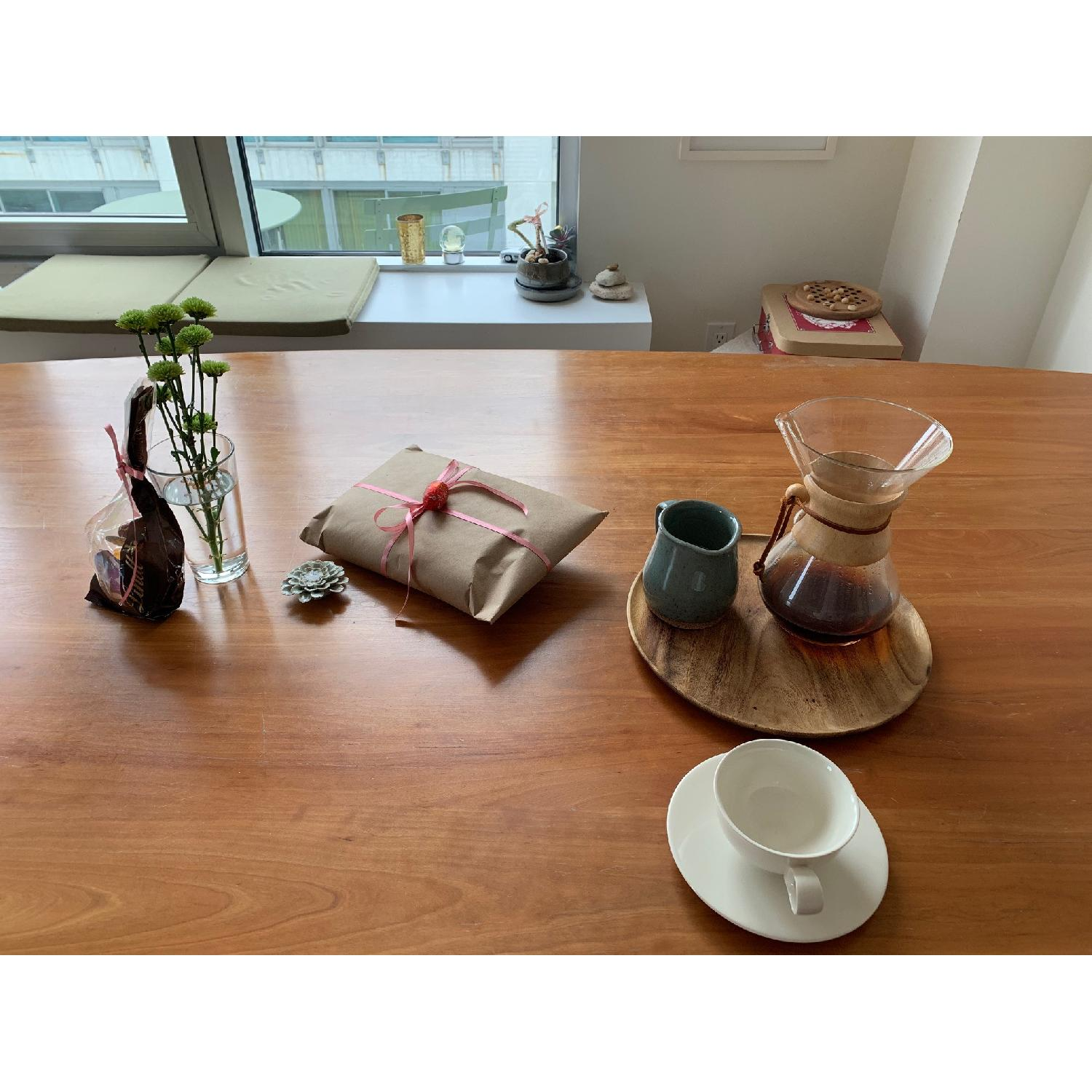 Room & Board Cherry Dining Table - image-10