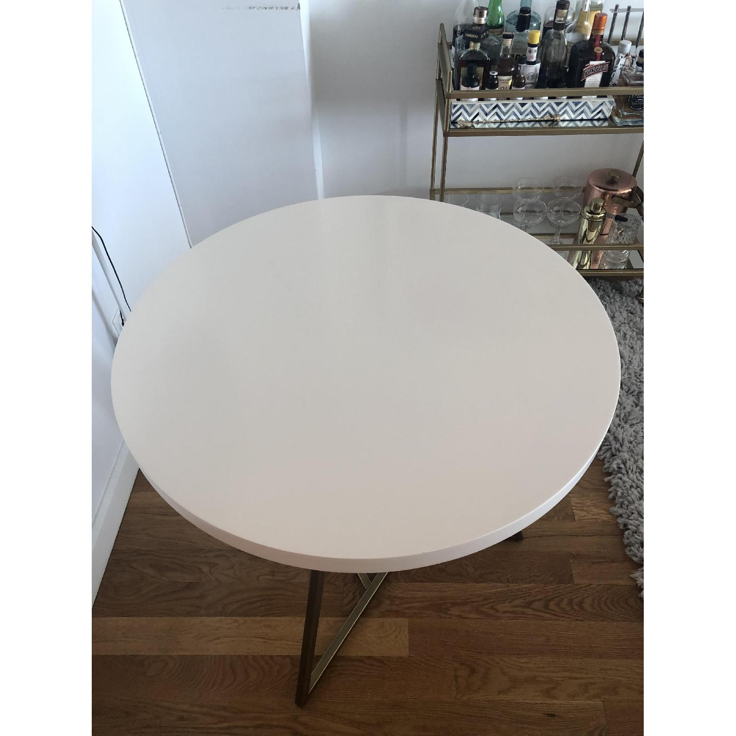 West Elm Laquer Top Cafe Table - image-3
