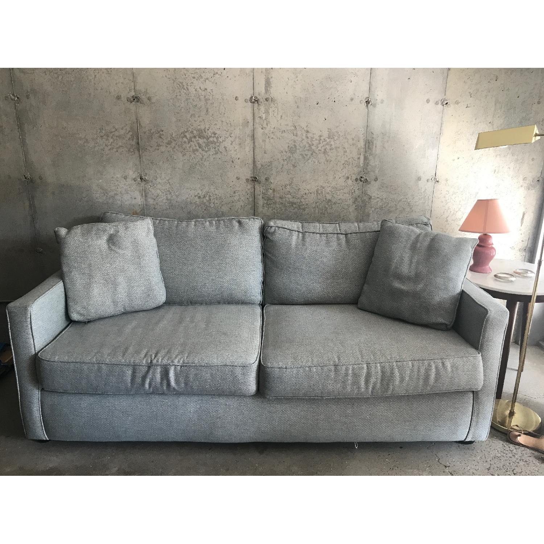 Dwell Studio Blue-Green Sofa - image-1