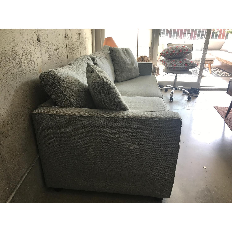 Dwell Studio Blue-Green Sofa - image-2