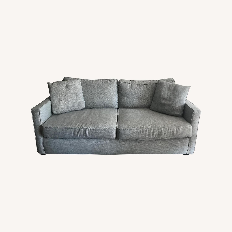 Dwell Studio Blue-Green Sofa - image-0