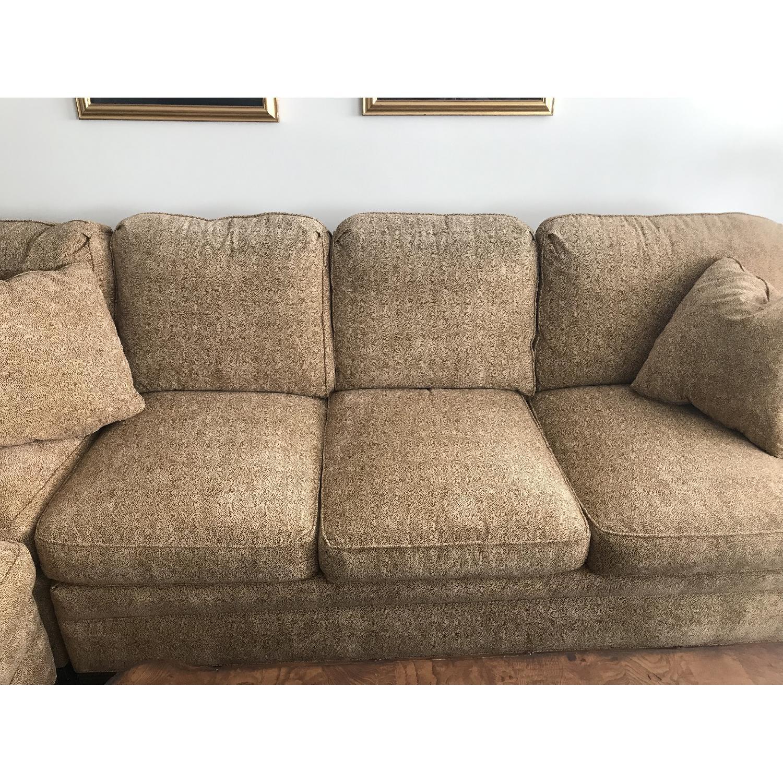 Thom Sweeney Custom 2 Piece Sectional Sofa - image-1