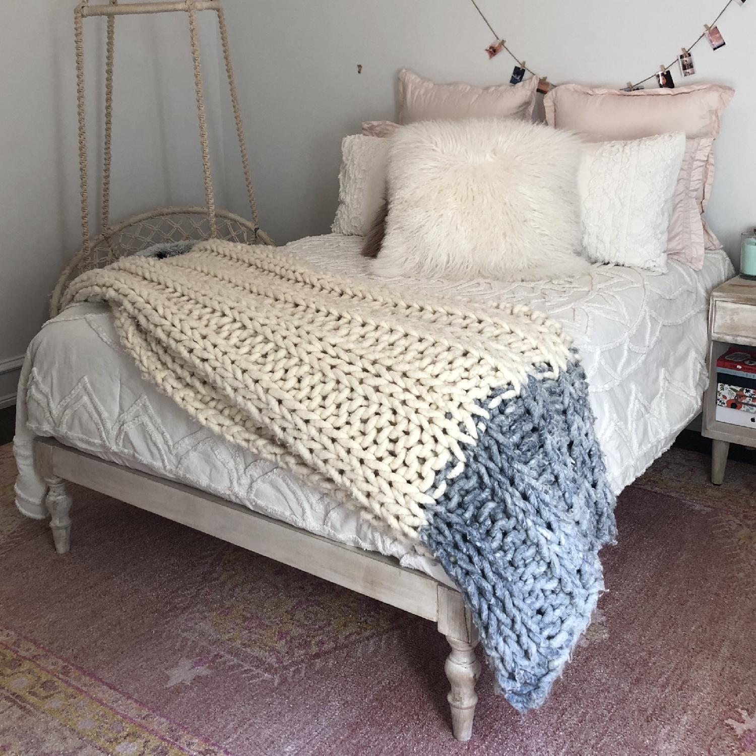 Urban Outfitters Bohemian Platform Bed - image-1