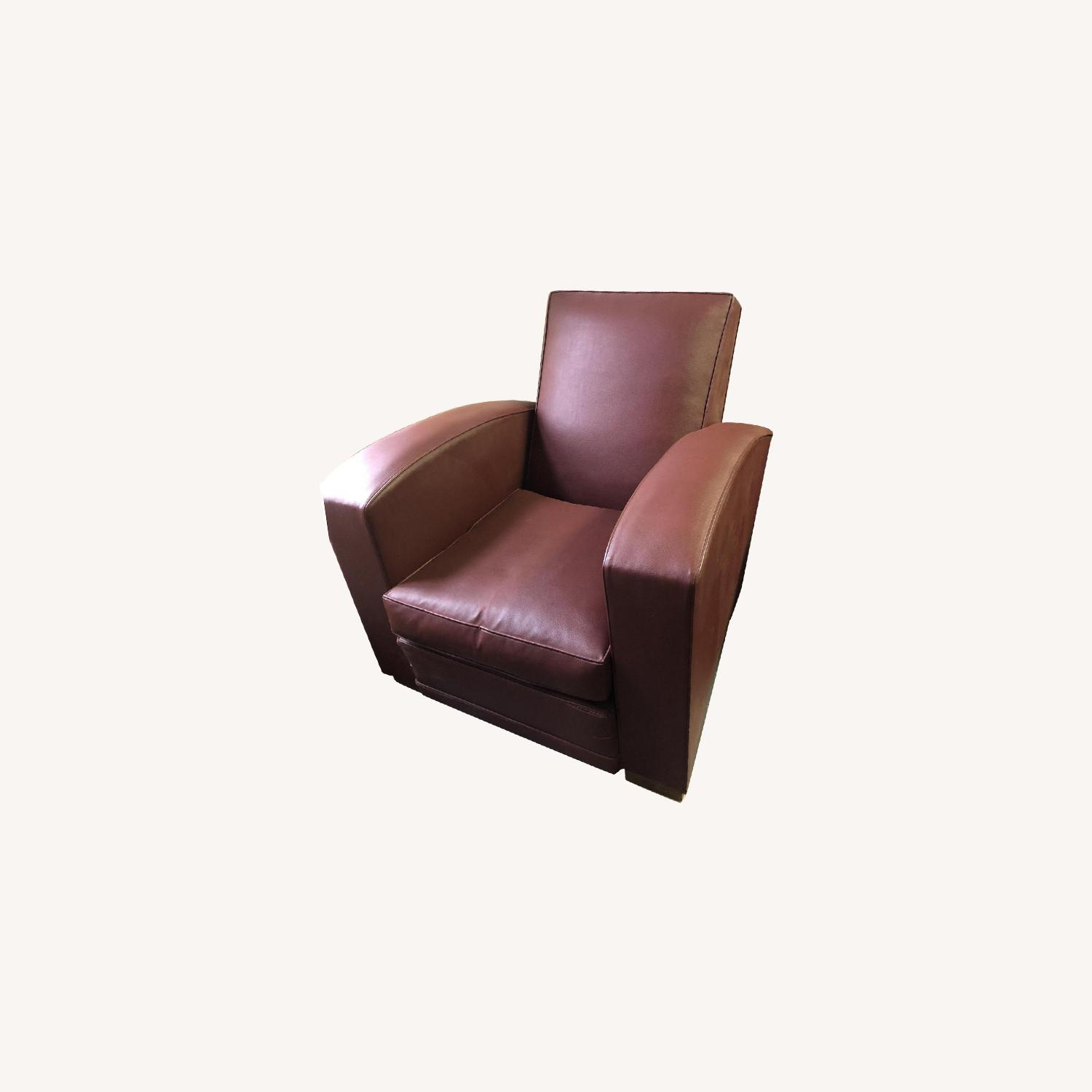 Vintage French Deco Club Chair - image-0