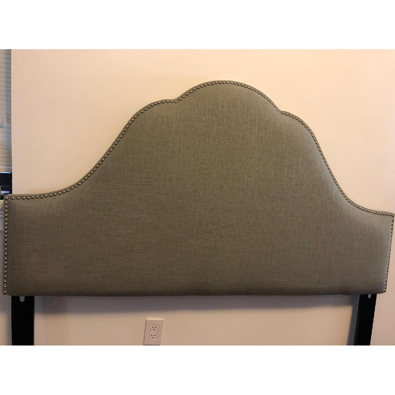 Skyline Furniture Congress Queen Linen Headboard - image-2