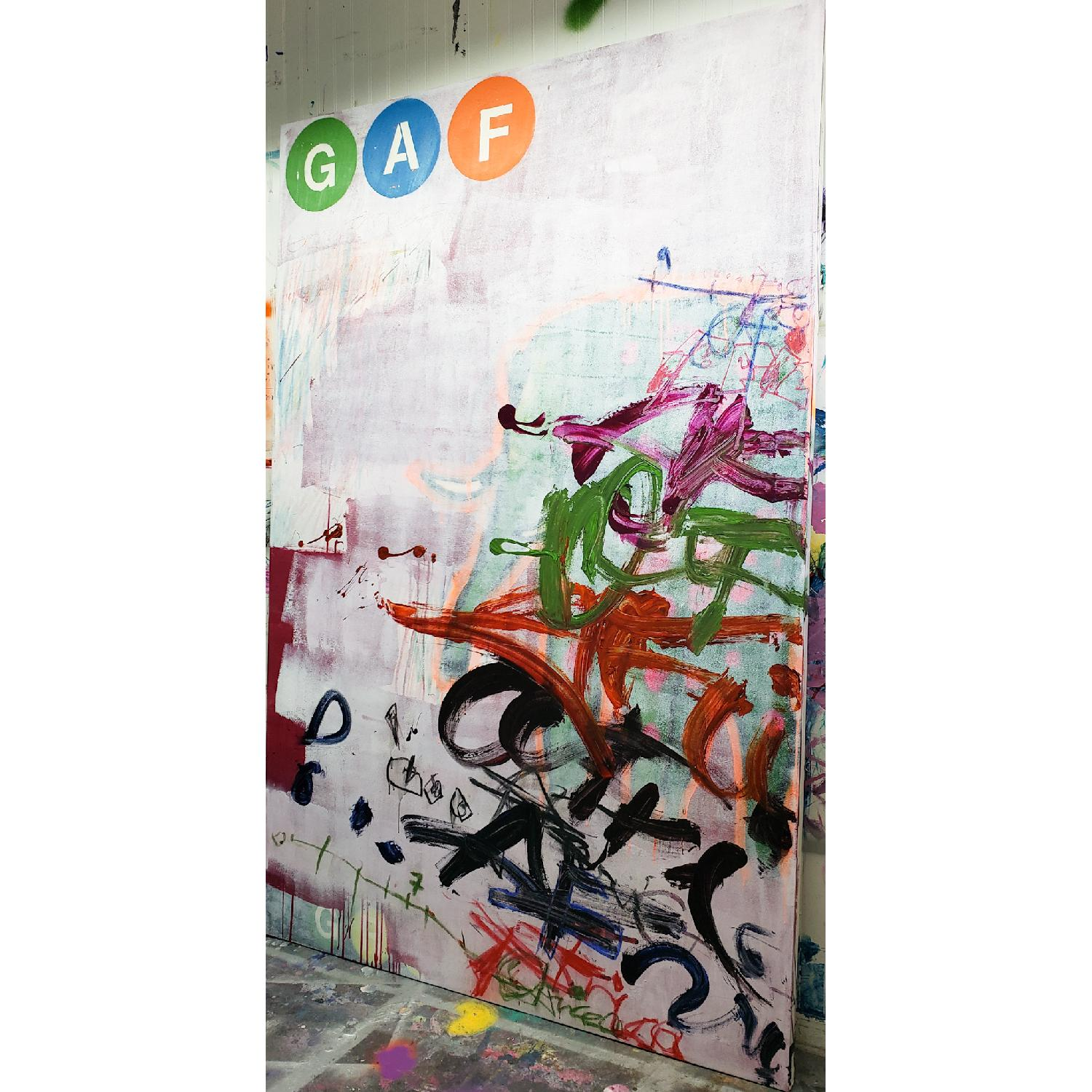Alberto Riera New York Subway Collection Painting - image-0