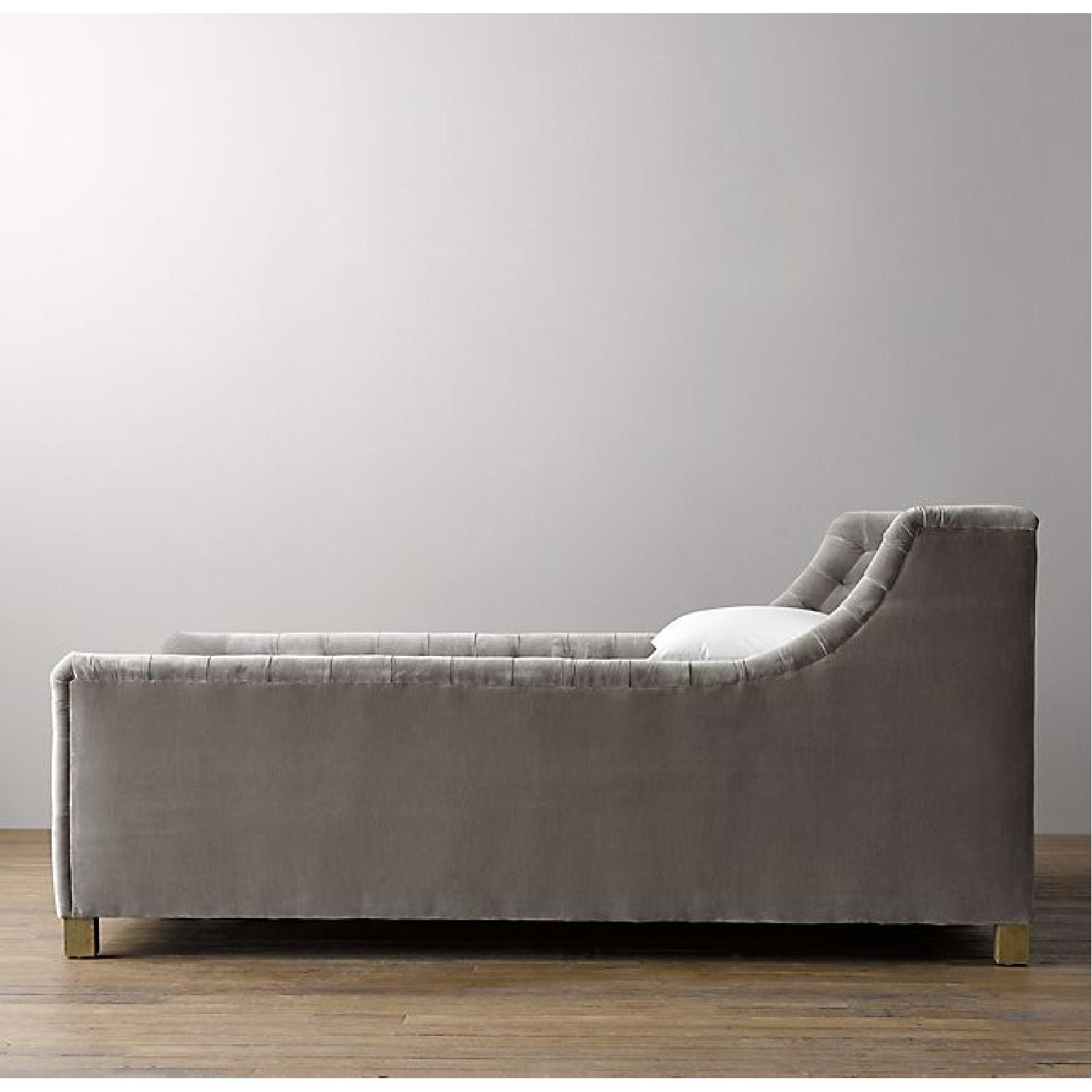 Restoration Hardware Devyn Tufted Bed - image-3