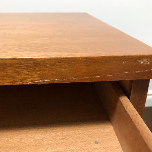 Used Vintage Mid Century Modern Writing Desk for sale on AptDeco