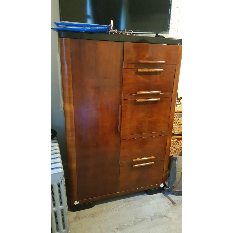 Vintage Wood Dresser - image-1