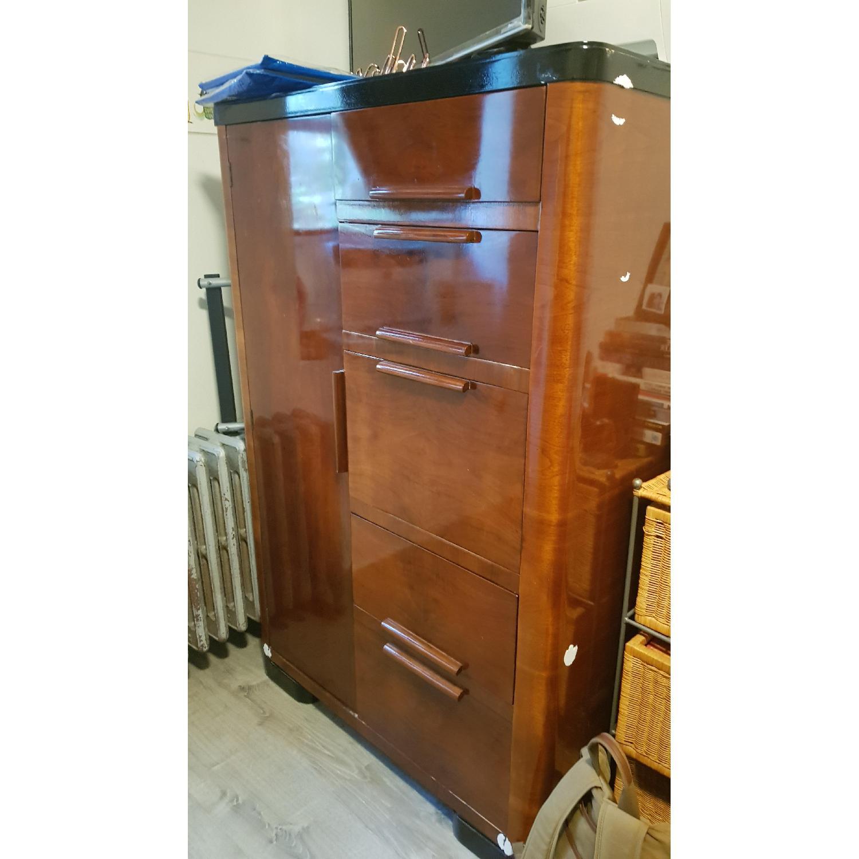 Vintage Wood Dresser - image-4