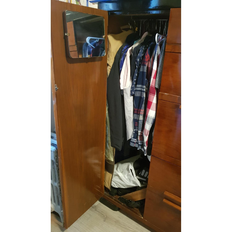 Vintage Wood Dresser - image-3